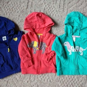 Lot of 6month hoodies